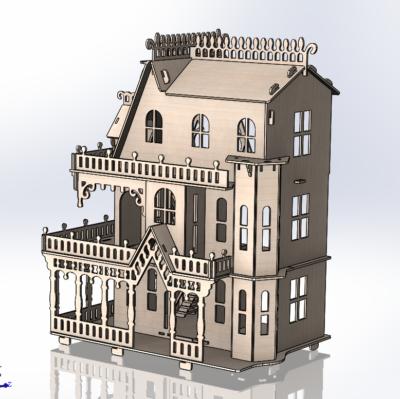 Разработка 3D моделей